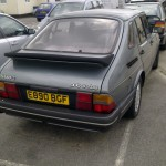 Saab 900 classic rear (whale tail spoiler)